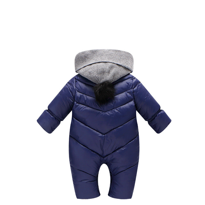 Baby Winter Hooded Cotton Outwear