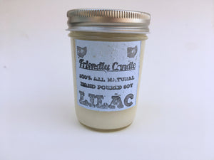 Lilac 100% Soy Friendly Candle