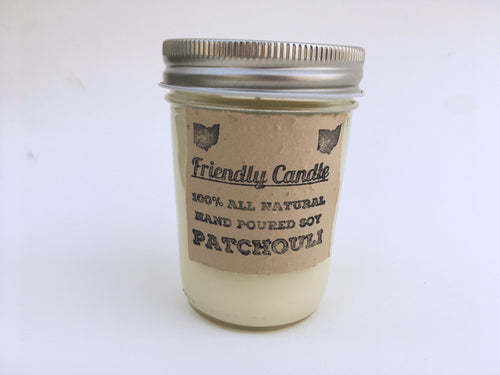 Patchouli 100% Soy Friendly Candle