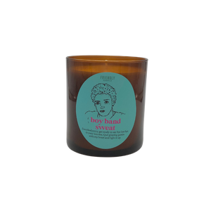 Boy Band Sweat Soy Candle
