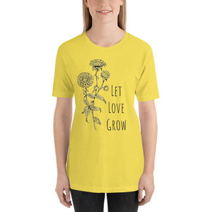 Let Love Grow Tee