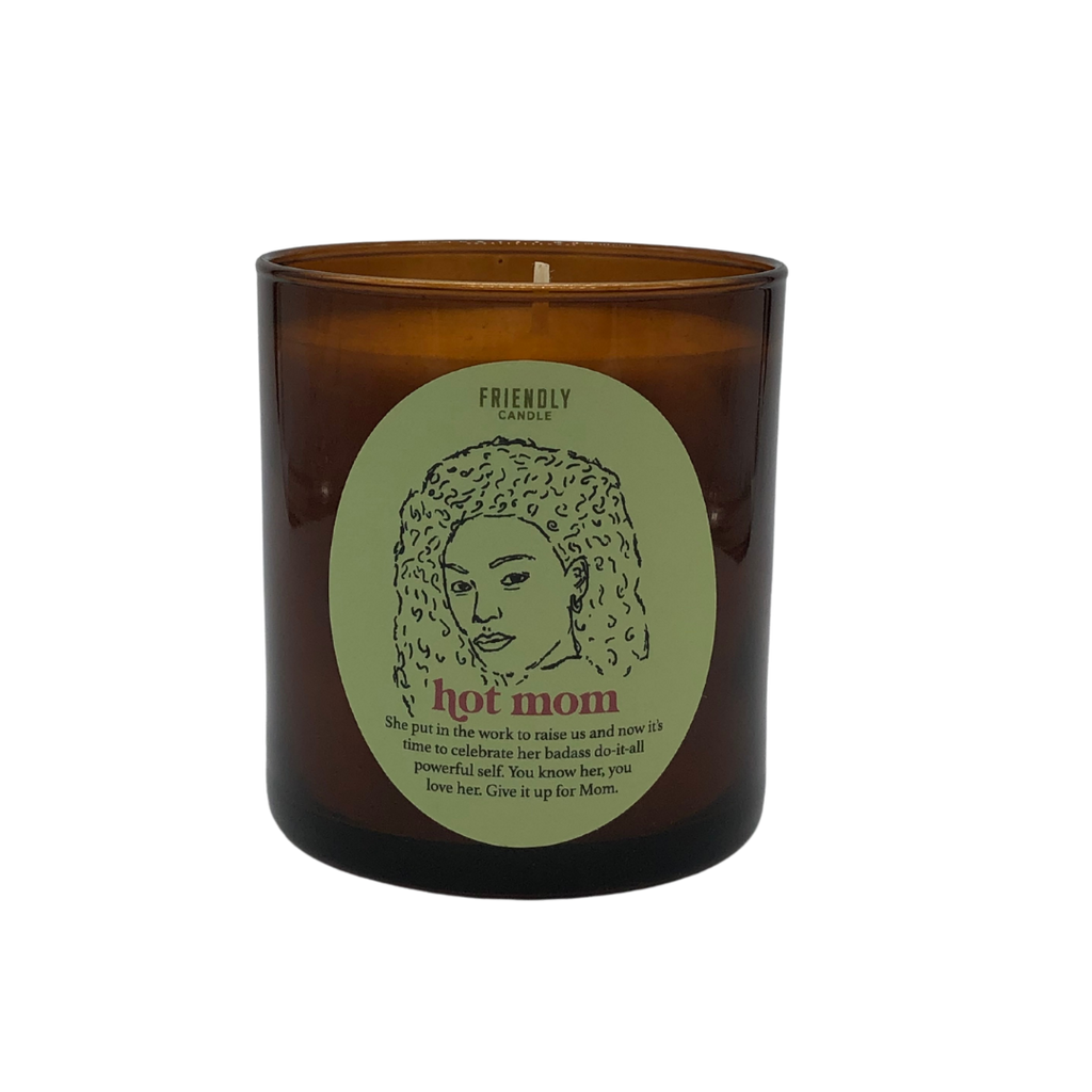 Hot Mom Soy Candle