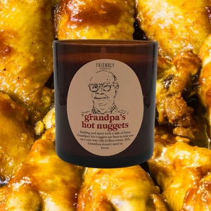 Grandpa's Hot Nuggets Chicken Wing Soy Candle
