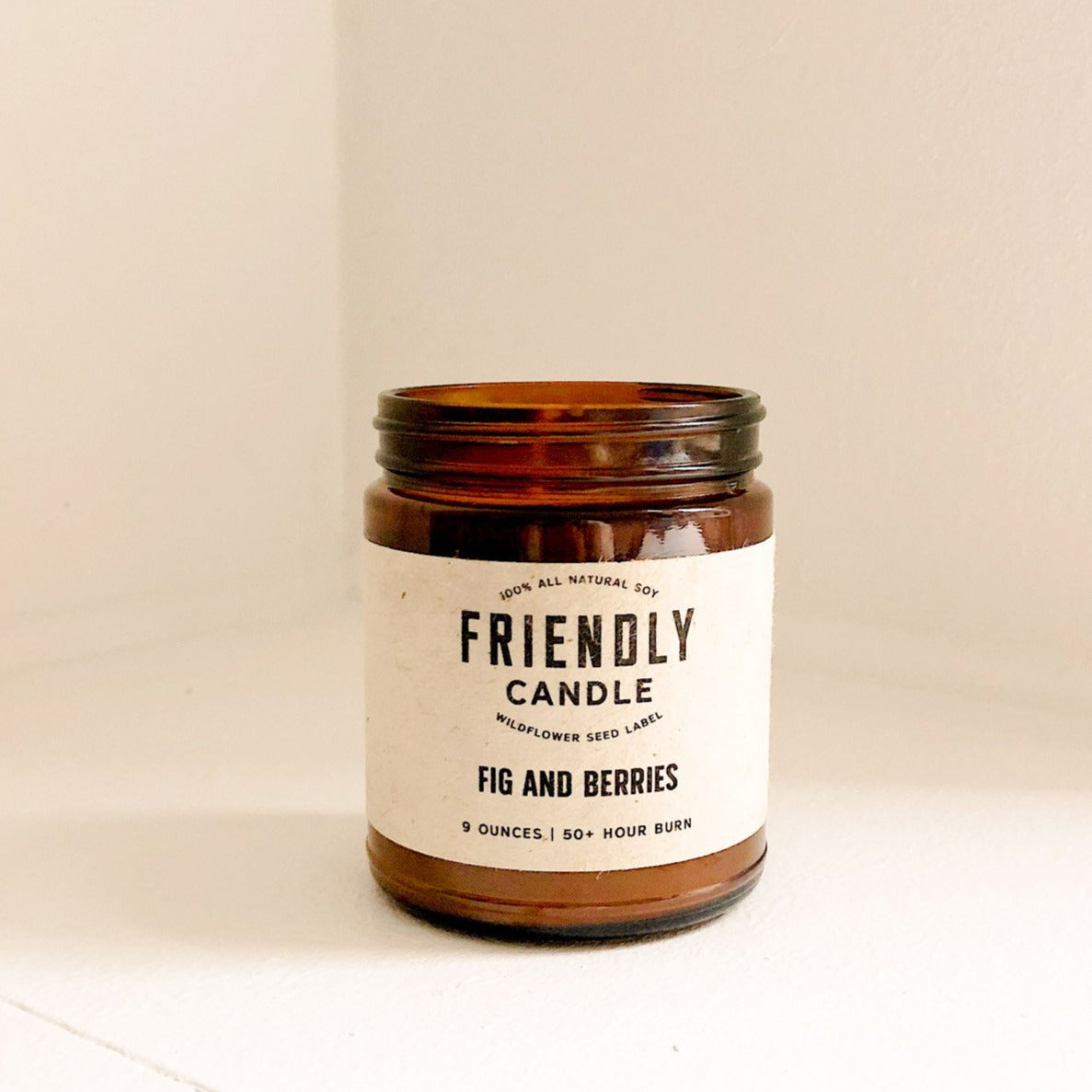 Fig And Berries Soy Candle