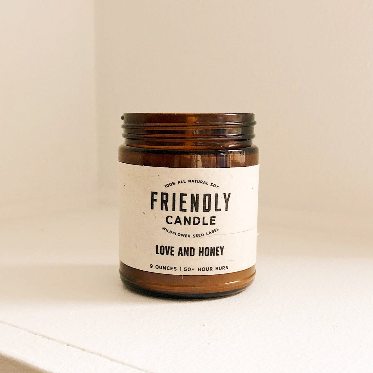 Love And Honey Soy Candle
