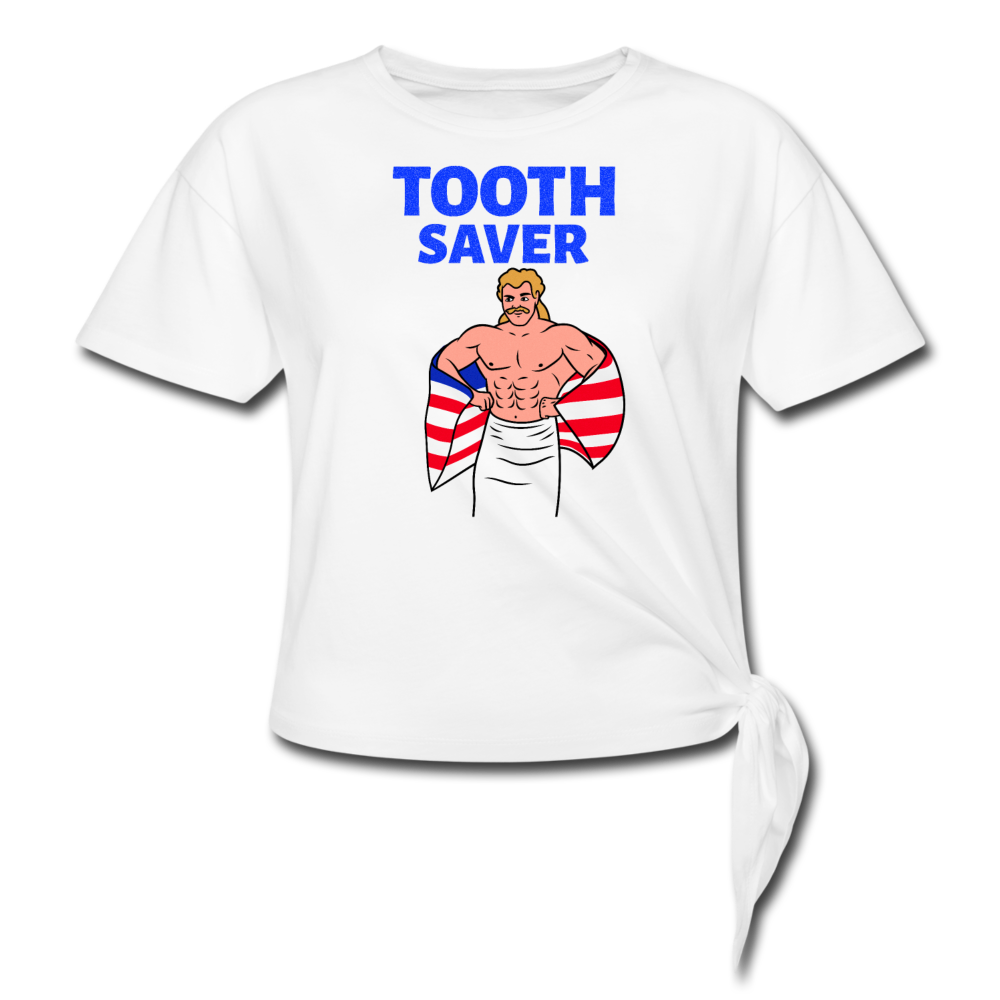 Tooth Saver Wrestling Tee - white