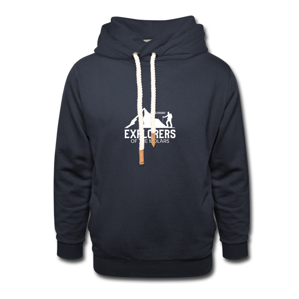 Explorer of the Molars  Hoodie - navy