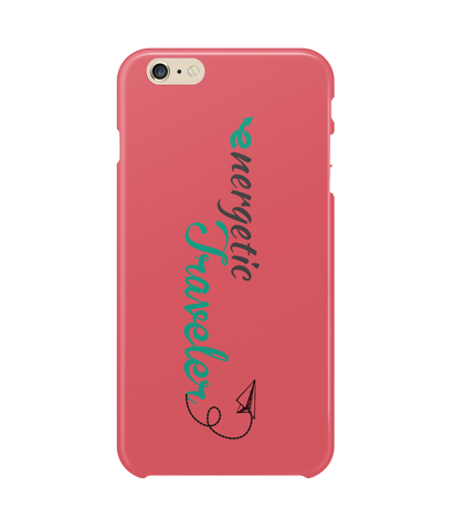 Carcasa en varios colores para iPhone 6S Plus - Energetic Traveler logo