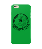 Carcasa en varios colores para iPhone 6 Plus - Energetic Traveler Globe