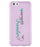 Carcasa en varios colores para iPhone 6 - Energetic Traveler logo