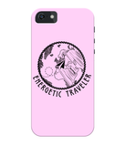 Carcasa en varios colores para iPhone 5C - Energetic Traveler Globe