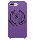 Carcasa en varios colores para iPhone 8 Plus - Energetic Traveler Globe