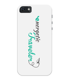 Carcasa en varios colores para iPhone 5C - Energetic Traveler logo