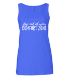 Camiseta de tirantes de mujer - Varios colores - Step out of your comfort zone