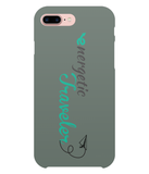 Carcasa en varios colores para iPhone 8 Plus - Energetic Traveler logo