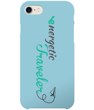 Carcasa en varios colores para iPhone 7 - Energetic Traveler logo