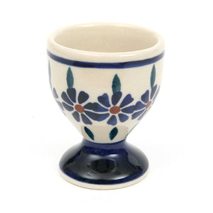 Egg Cup Bunzlau Flower