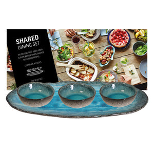 Handmade Shared Dining Appero Giftset in Blue