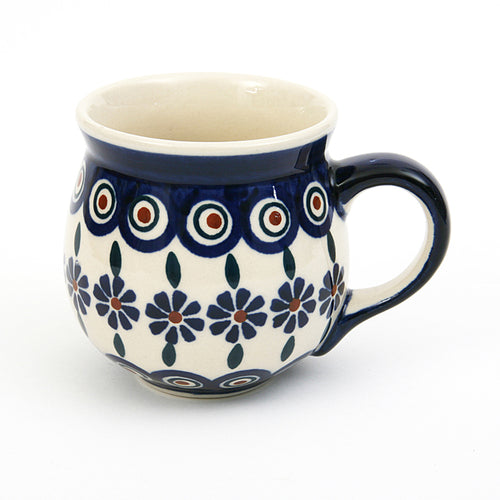 Belly Mug Medium Bunzlau Flower
