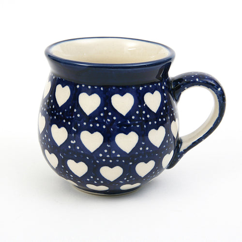Belly Mug Small Hearts
