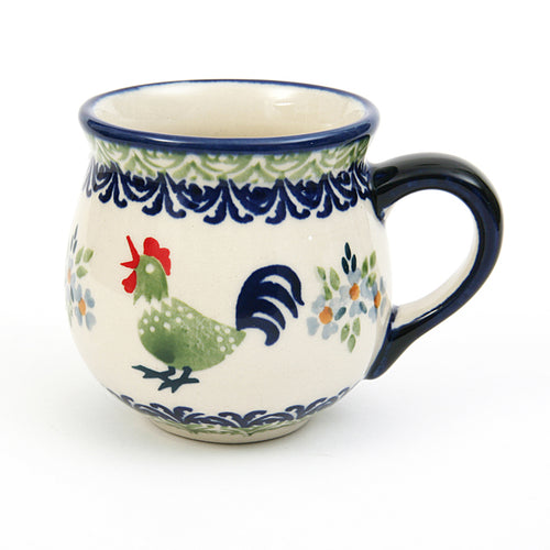 Belly Mug Small Cockerel
