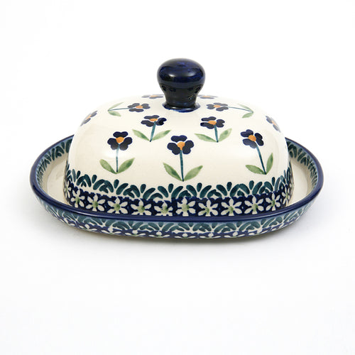 Butter Dish for 125g Field of Flowers