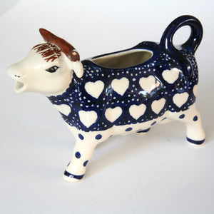 Cow Creamer Hearts