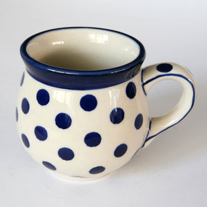 Belly mugs (s) Polka Dot
