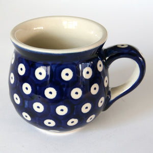 Belly mugs (s) Blue Spot