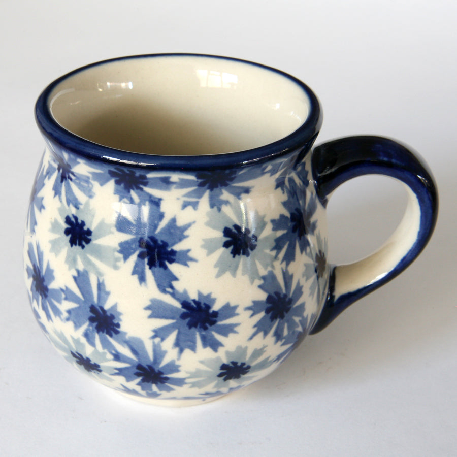 Belly mugs (s) Cornflower