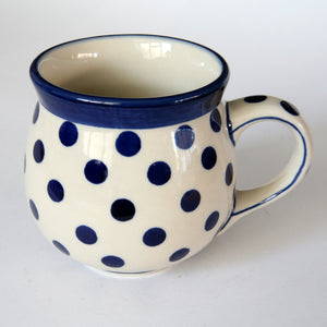 Belly mug round (m) 0.35l Polka Dot