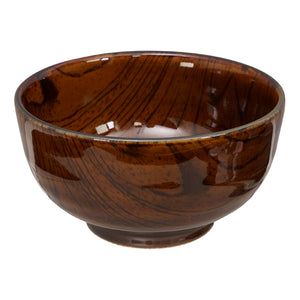 Mokuzai Wood Look Bowl 16x8.5cm