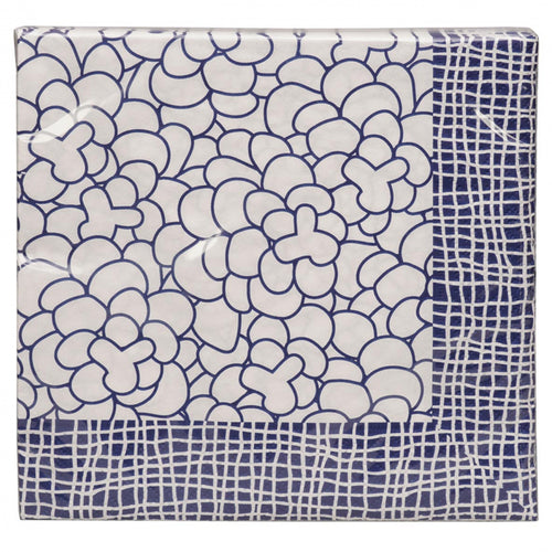 Napkins Nippon Blue Leaf 20 Pieces