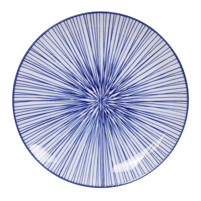 Plate Nippon Blue Lines