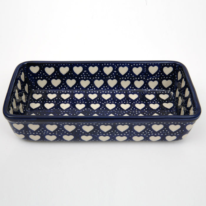 Rectangular Dish Hearts