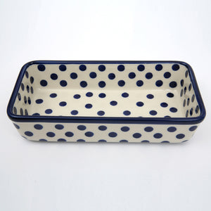 Rectangular Dish Polka Dot