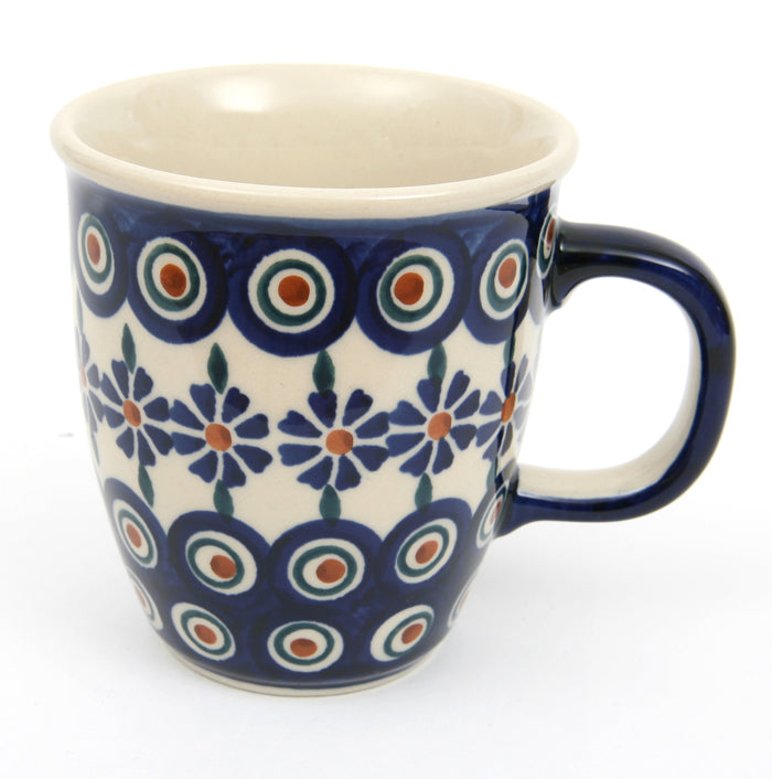 Tapered Mug In Small Bunzlau Flower