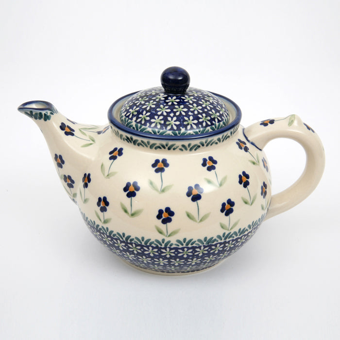 Teapot Round 1.5L Field of Flowers