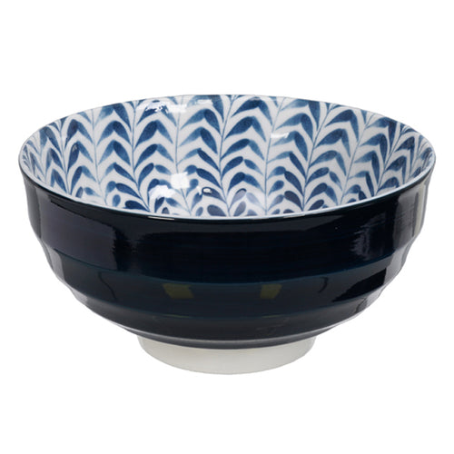 Mixed Bowl Blue and White 16x8.5cm