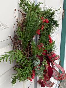 Christmas Wreath -Red