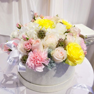 Blushing Beauty Centerpiece