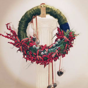 Christmas Wreath - Berry Twig