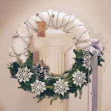 Christmas Wreath - Winter White
