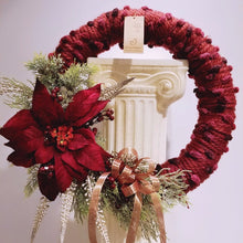 Christmas Wreath - Crimson