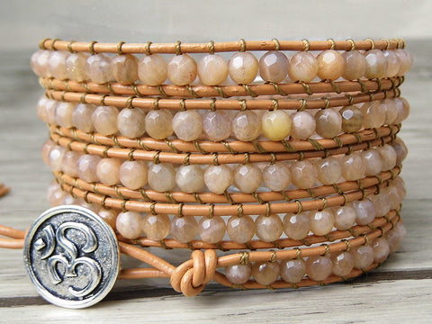 Enhance Your Hidden Talents: Sunstone Crystal Bracelet