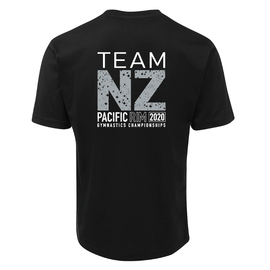 Limited Edition Team NZ Tee [BLK]