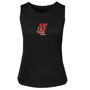 2019 Ladies Singlet [Black]