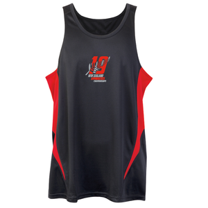 2019 Mens Singlet [Black/Red]