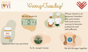 Giving Tuesday with St. Joseph Center