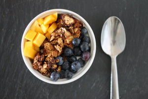 5 Ingredient Almond Butter Granola